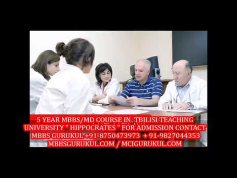 "5 YEAR MBBS/MD PROGRAMME TBILISI MEDICAL TEACHING UNIVERSITY ""HIPPOCRATES"""