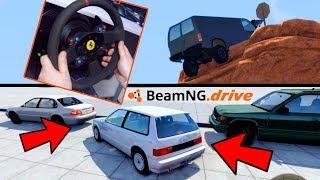 STUNT, PARCHEGGIO, CONSEGNA PIZZE - BeamNG Drive Challenge