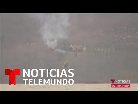 Muere Kobe Bryant en un accidente de helicóptero, reportan varios medios | Noticias Telemundo