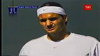 Indian Wells 2004 Roger Federer - Fernando Gonzalez