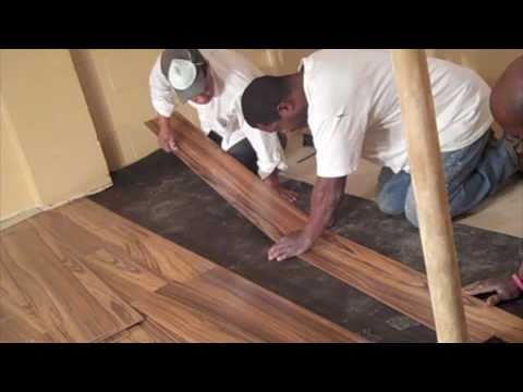How NOT to install laminate flooring
