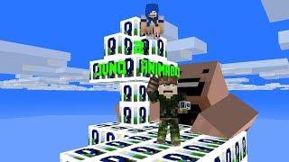 JVNQ ANIMADO 2 (LUCKY BLOCK DOS DEUSES I MINECRAFT ILHA LUCKY BLOCK)