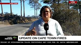 Update on Cape Town fires