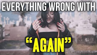 """Gambar cover Everything Wrong With Noah Cyrus - """"Again (ft. XXXTENTACION)"""""""