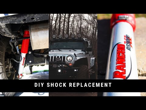 DIY: How to replace shocks on your Jeep Wrangler