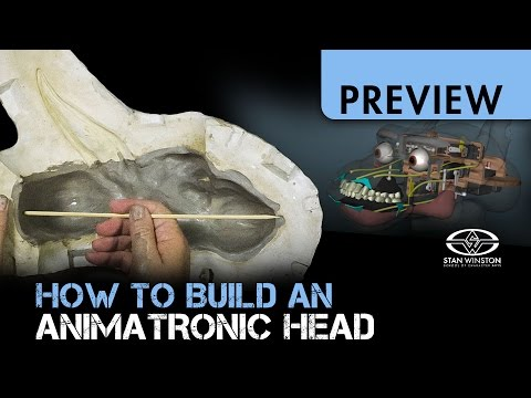 How to Build an Animatronic Head - Part 1 - PREVIEW
