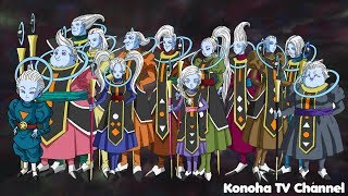 Dragon Ball Super - All Angels (Universe 1-12) YouTube Videos