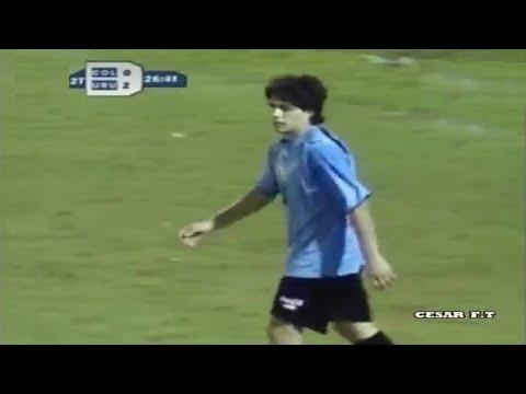 Debut de Luis Suárez en la Selección Uruguaya 07/02/2007
