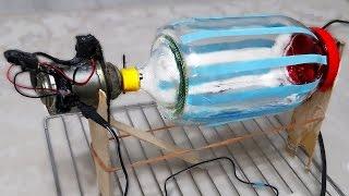 Funny electric Washing Machine using bottle - Easy Way