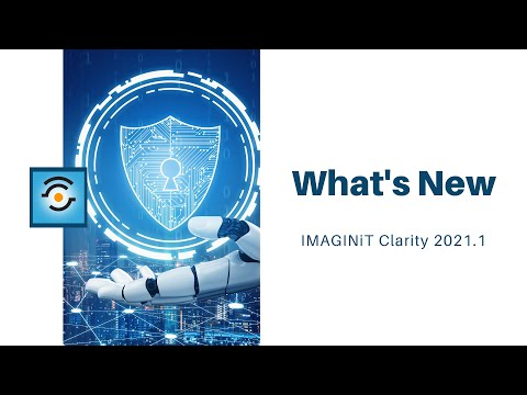 What's New in IMAGINiT Clarity 2021.1