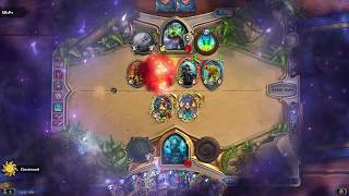 Hearthstone:  Even Recruit Warrior vs. Thief Rogue  (Catalog: Boomsday / September 2018)