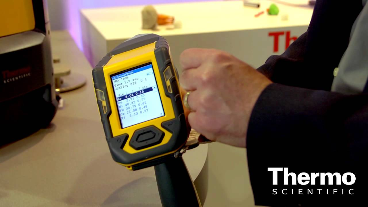 Handheld XRF Analyzer Technology | Thermo Scientific - YouTube