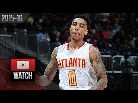 Jeff Teague Full Highlights vs Mavericks (2016.02.01) - 32 Pts, 8 Ast