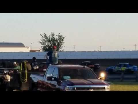 Dustin Virkus @ Madison Speedway- Heat 7.8.17, Part 2
