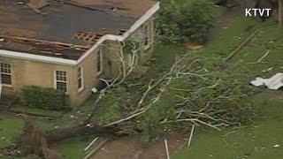 Massive damage from storms in Van, Texas