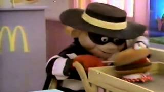 McDonald's Hamburglar commercial 1986