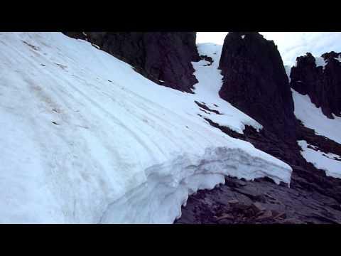 Great Slab Glacier Coire an Lochain 18th April 2011