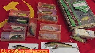 Какие воблеры для рыбалки были в СССР,музей советских воблеров.What fishing lures were in the USSR.
