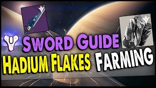 Destiny: The Taken King Best Hadium Flakes & Runes Farming Guide! Fastest Way to Get the Sword!
