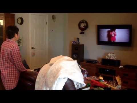 """Mom watching """"That Christmas Song"""" by DWV"""