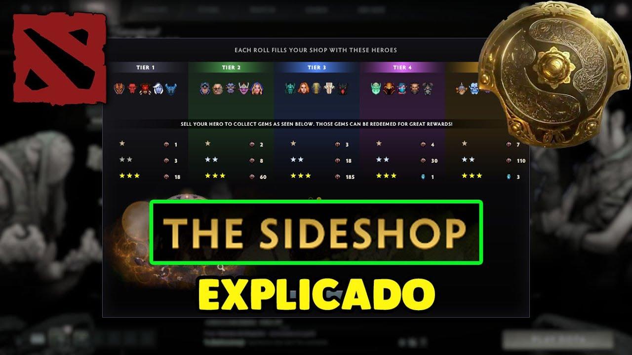 Dota 2 Sideshop
