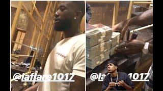 Casino Gives Gucci Mane $100K In $1 Bills + Lil Pump Checks A Rogue Security Guard + Hoodrich Pablo