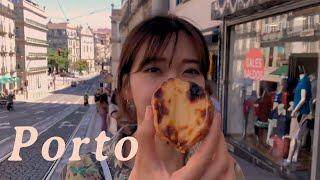 Porto VLOG.  인생 빵집 찾기 ?  포르투에서…