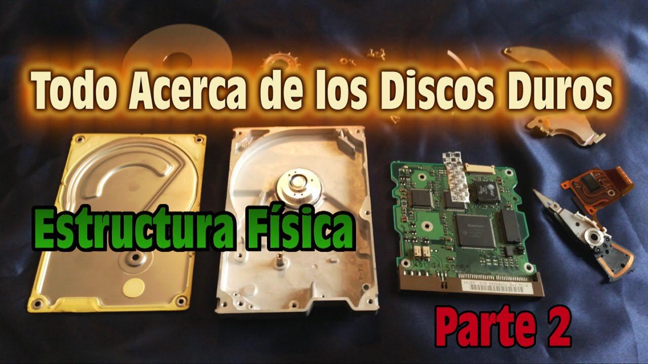 Todo Acerca De Los Discos Duros All About Hard Disk Estructura Física Parte2