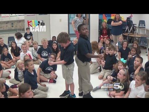 Breitling Elementary School with Chief Meteorologist Alan Sealls