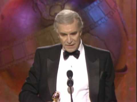 Martin Landau Wins Best Supporting Actor Motion Picture  Golden Globes 1989