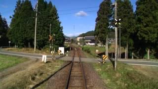 【前面展望】美濃太田~郡上八幡~北濃【長良川鉄道】