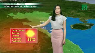 VTC14   Thời tiết 6h 20/04/2018   Trời khô ráo, rất thuận lợi cho những hoạt động ngoài trời