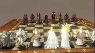 3d chess - cờ vua 3d hình người