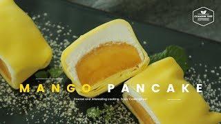 홍콩 스타일✨ 망고 팬케이크 만들기, 망고 크레이프 :…