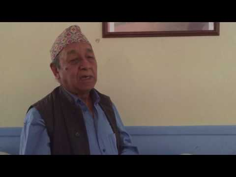 Dr. C B Gurung on Project Nepal House