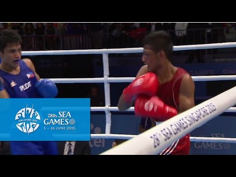 Boxing (Day 5) Men's Flyweight (52kg)  Finals Bout 69 | 28th SEA Games Singapore 2015
