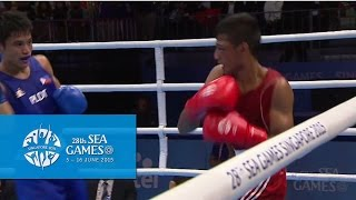 Gambar cover Boxing (Day 5) Men's Flyweight (52kg)  Finals Bout 69   28th SEA Games Singapore 2015