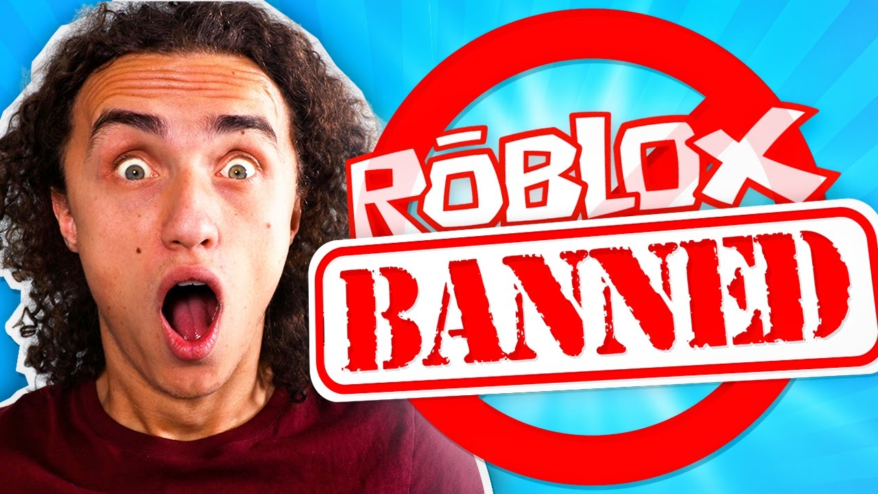 BANNED FROM ROBLOX! - YouTube