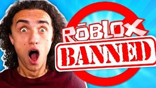BANNED FROM ROBLOX!