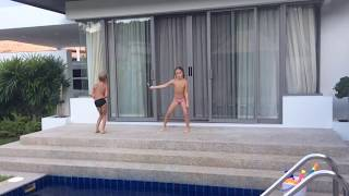 Тайланд. Пхукет. Ноябрь 2016. Танцующий миллионер 😆 Thailand. Phuket. Dancing billionaire