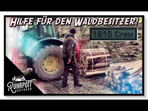 Wir helfen dem Waldbesitzer! Ruhrpott Outdoor