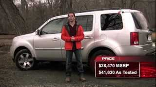 Honda Pilot 2012 Test Drive & Car Review by RoadflyTV with Ross Rapoport