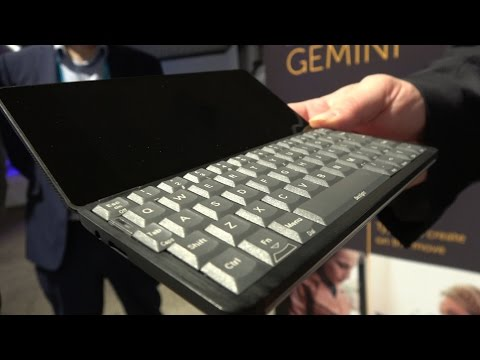 "$299 Gemini PDA, QWERTY keyboard, PSION style, Helio-X25 Deca-core, 5.7"" QHD, now on Indiegogo"