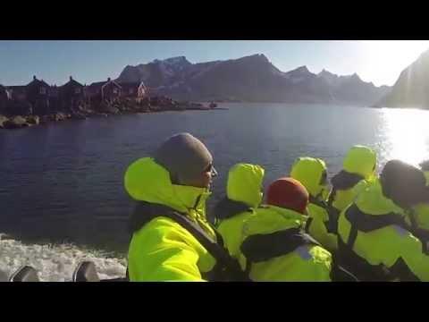 Amazing Lofoten - Deep Sea Rafting to Refsvika Cave