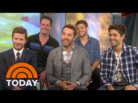TBT: 'Entourage' Winds Down, Cast Speculate About Film  TODAY