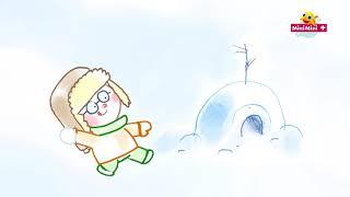 Gdy pada śnieg | piosenki dla dzieci MiniMini+