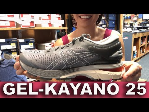 ASICS GEL KAYANO 25 YouTube