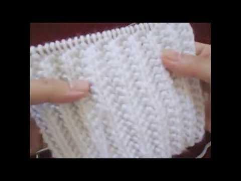 Cách đan khăn len đơn giản / đan cốt