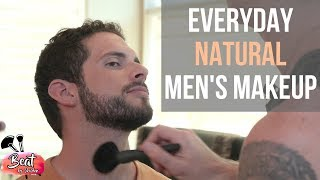 Everyday Natural Men's Makeup Tutorial | SheldonBruckMUA