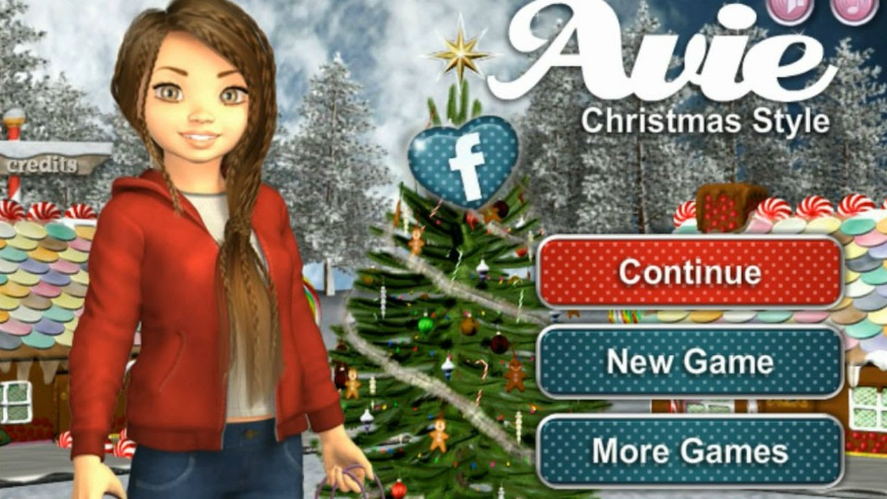 Avie Christmas Style Christmas Fashion Game Girl Game Part 1 Youtube